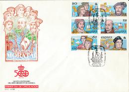 1987 Espagne  Yv 2533/2538 Découverte Amérique II Amerique Cachet (Premier Jour) TB Beau (FDC)  (Yvert&Tellier) - FDC