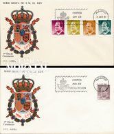1986 Espagne  Yv 2456/24620, 2475 Juan Carlos I Rois Cachet (Premier Jour) TB Beau (FDC)  (Yvert&Tellier) - FDC