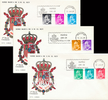 1985 Espagne  Yv 2413/2420 Juan Carlos I Rois Cachet (Premier Jour) TB Beau (FDC)  (Yvert&Tellier) - FDC