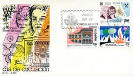 1983 Espagne  Yv 2332/2334 Ephéméride Anniversaires Cachet (Premier Jour) TB Beau (FDC)  (Yvert&Tellier) - FDC
