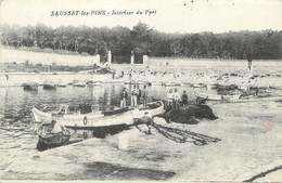 """/ CPA FRANCE 13 """"Sausset Les Pins, Intérieur Du Port"""" - Autres Communes"""