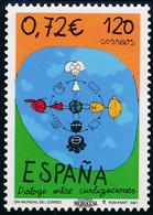 2001 Espagne  Yv 3389 Journée Mondiale Du Courrier  **SC TTB Très Beau, Neuf Sans Charnière  (Yvert&Tellier) - 2001-10 Nuevos & Fijasellos
