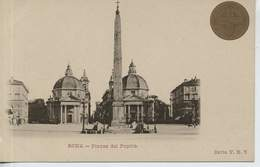 Roma Piazza Del Popolo Ongebruikt - Places & Squares