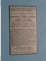 DP Elisabeth GERARDI ( Karel Jan HENS ) Brecht 8 Dec 1917 - Kapellen 17 Juli 1943 ( Zie Foto's ) ! - Overlijden