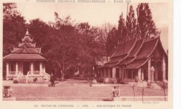 LAOS(EXPOSITION 1931 PARIS) 2 CARTES - Laos