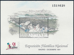 1991 Spain  Sc 2660 Sheets Exfilna'91 Exposition **MNH Very Nice, Mint Hever Hinged  (Scott) - 1991-00 Ongebruikt
