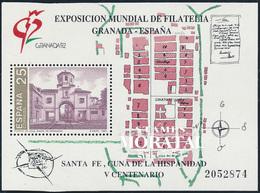 1991 Spain  Sc 2644 Sheets Granada Exposition **MNH Very Nice, Mint Hever Hinged  (Scott) - 1991-00 Ongebruikt