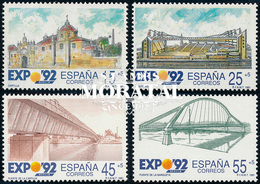 1991 Spain  Sc B173/176 Expo'92 V Exposition **MNH Very Nice, Mint Hever Hinged  (Scott) - 1991-00 Unused Stamps