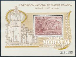 1990 Spain  Sc 2631 Sheets Filatem'90 Exposition **MNH Very Nice, Mint Hever Hinged  (Scott) - 1981-90 Ongebruikt