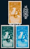 1955 Spain  Sc 839/841 Telegraph Phones **MNH Very Nice, Mint Hever Hinged  (Scott) - 1931-Aujourd'hui: II. République - ....Juan Carlos I