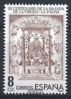 1980 Spain  Sc 2217 Ms. De Las Nieves Religious **MNH Very Nice, Mint Hever Hinged  (Scott) - 1931-Today: 2nd Rep - ... Juan Carlos I