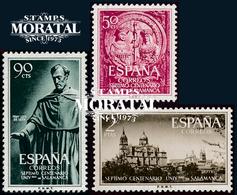 1953 Spain  Sc 795/797 University Education **MNH Very Nice, Mint Hever Hinged  (Scott) - 1931-Aujourd'hui: II. République - ....Juan Carlos I