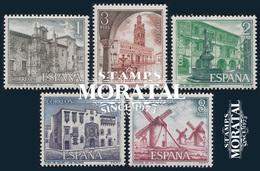 1973 Spain  Sc 1756/1760 Tourist  VIII Tourism **MNH Very Nice, Mint Hever Hinged  (Scott) - 1931-Today: 2nd Rep - ... Juan Carlos I