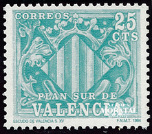 1985 Spain  Sc 0 Coat Arms Valencia Coat Arms **MNH Very Nice, Mint Hever Hinged  (Scott) - Wohlfahrtsmarken
