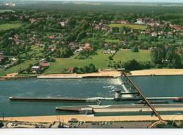 Péniches Batellerie Chartrettes Bois-le-Roi Le Barrage L'écluse En Amont Du Pont La Seine - Péniches
