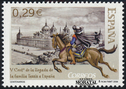 2006 Spain  Sc 3413 Tassis Family  **MNH Very Nice, Mint Hever Hinged  (Scott) - 1931-Today: 2nd Rep - ... Juan Carlos I