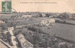 ¤¤  -  MAUVES   -  Panorama Vers L'Est, Pris Du Clocher    -   ¤¤ - Mauves-sur-Loire