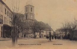 Les Mées Place De L'église - France