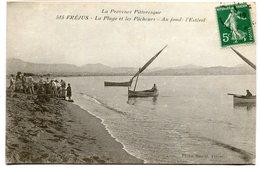 CPA - Carte Postale - France - Frejus - La Plage Et Les Pêcheurs - 1912 ( I10817) - Frejus