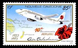 NOUV.-CALEDONIE 1993 - Yv. PA 305 **   Faciale= 0,71 EUR - Aircalin (Air Calédonie Int.)  ..Réf.NCE24958 - Nuevos