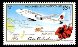 NOUV.-CALEDONIE 1993 - Yv. PA 305 **   Faciale= 0,71 EUR - Aircalin (Air Calédonie Int.)  ..Réf.NCE24959 - Nuevos