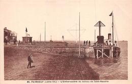 ¤¤  -  PAIMBOEUF   -  L'Embarcadère Du Bateau De Saint-Nazaire   -   ¤¤ - Paimboeuf