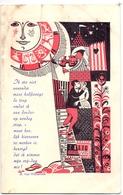 Kalender Calendrier - 1961 - Pub Reclame Drukkerij E. Baert - Tielt - Petit Format : 1961-70