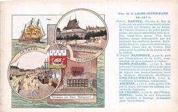 Département De La Loire-Inférieure - NANTES - PAIMBOEUF - SAINT-NAZAIRE - CHATEAUBRIANT - ANCENIS - PORNIC - LE CROISIC - France