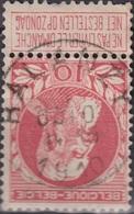 "(51) COB/OBP 74 ""HALANZY"" +15 - 1905 Breiter Bart"