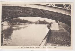 CPSM-77-Seine Et Marne- LA FERTE-sous-JOUARRE- Sous Le Pont- - La Ferte Sous Jouarre