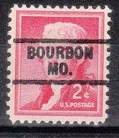USA Precancel Vorausentwertung Preo, Locals Missouri, Bourbon 729 - Vereinigte Staaten