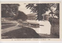 CPSM-77-Seine Et Marne- LA FERTE-sous-JOUARRE- Echappée Sur La Marne- - La Ferte Sous Jouarre