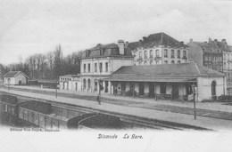 Dixmude.  La Gare.  Scan - Diksmuide