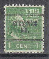USA Precancel Vorausentwertung Preo, Locals Missouri, Brunswick 704 - Vereinigte Staaten