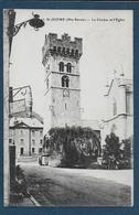 ST JEOIRE - Le Clocher Et  L' Eglise - Saint-Jeoire