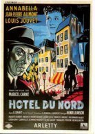 Réf. 608/ 1 CPM - Carte Postale Cinéma - Hôtel Du Nord - Arletty - Manifesti Su Carta