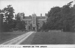Weston On The Green Manor House Postcard - Royaume-Uni