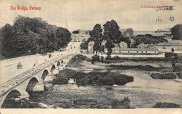 Fermoy The Bridge River Partial View Postcard - Cork