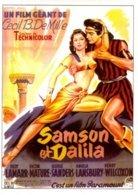 Réf.783/ 1 CPM - Carte Postale Cinéma - Samson Et Dalila - Affiches Sur Carte