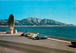 Automobiles - Voitures De Tourisme - Marseille - Monument Des Rapatriés - Voir Scans Recto-Verso - Turismo