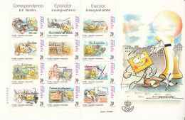 SPANJE - Michel - 1999 - Nr 3498/09 (Velletje) - MNH** - Blokken & Velletjes