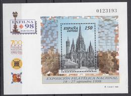 SPANJE - Michel - 1998 - BL 72 - MNH** - Blocs & Hojas
