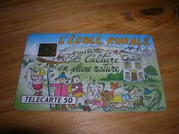 Telecarte 50u Privee D445 D 445 L' Ecole Rurale De St Sigismond  TTB Peut Etre Neuve - Francia