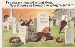"""I've Always Wanted A Long Sleep..."" Inter-Art Comique Series PC # 4149 - Mc Gill, Donald"