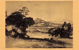 Claude Lorrain (Londres - British Museum) - Paysage De La Campagne Romaine - Peintures & Tableaux