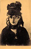 Edouard Manet (Paris - Collection Ernest Rouart) - Portrait De Berthe Morisot Au Bouquet De Violette - Peintures & Tableaux