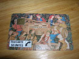 Telecarte 50u Privee D144 D 144 Tapisserie D Aubusson Art Et Tradition Ancien Cartouche TTB Peut Etre Neuve - Privées
