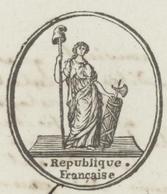 Héraldique Colmar An 2 - 3.6.1794  Signature Foussedoire Prêtre Ste Croix - Documents Historiques