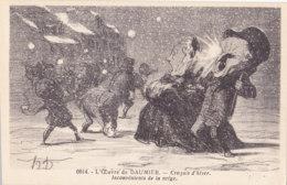L'OEuvre De Daumier (Fantaisie) - Croquis D'hiver - Inconvénients De La Neige - Humour