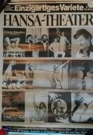 Hansa Theater Variete Music Hall Hamburg Plakat Circus Cirque Zirkus - Autres